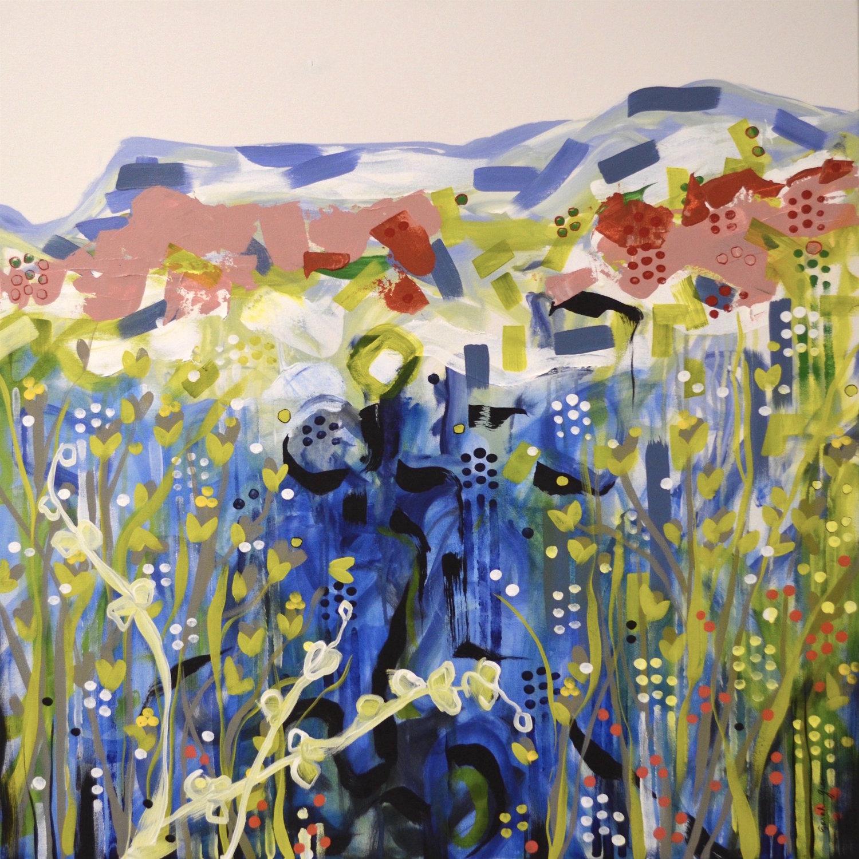 Morning Mesa 2  | 36 x 36 inch acrylic on canvas