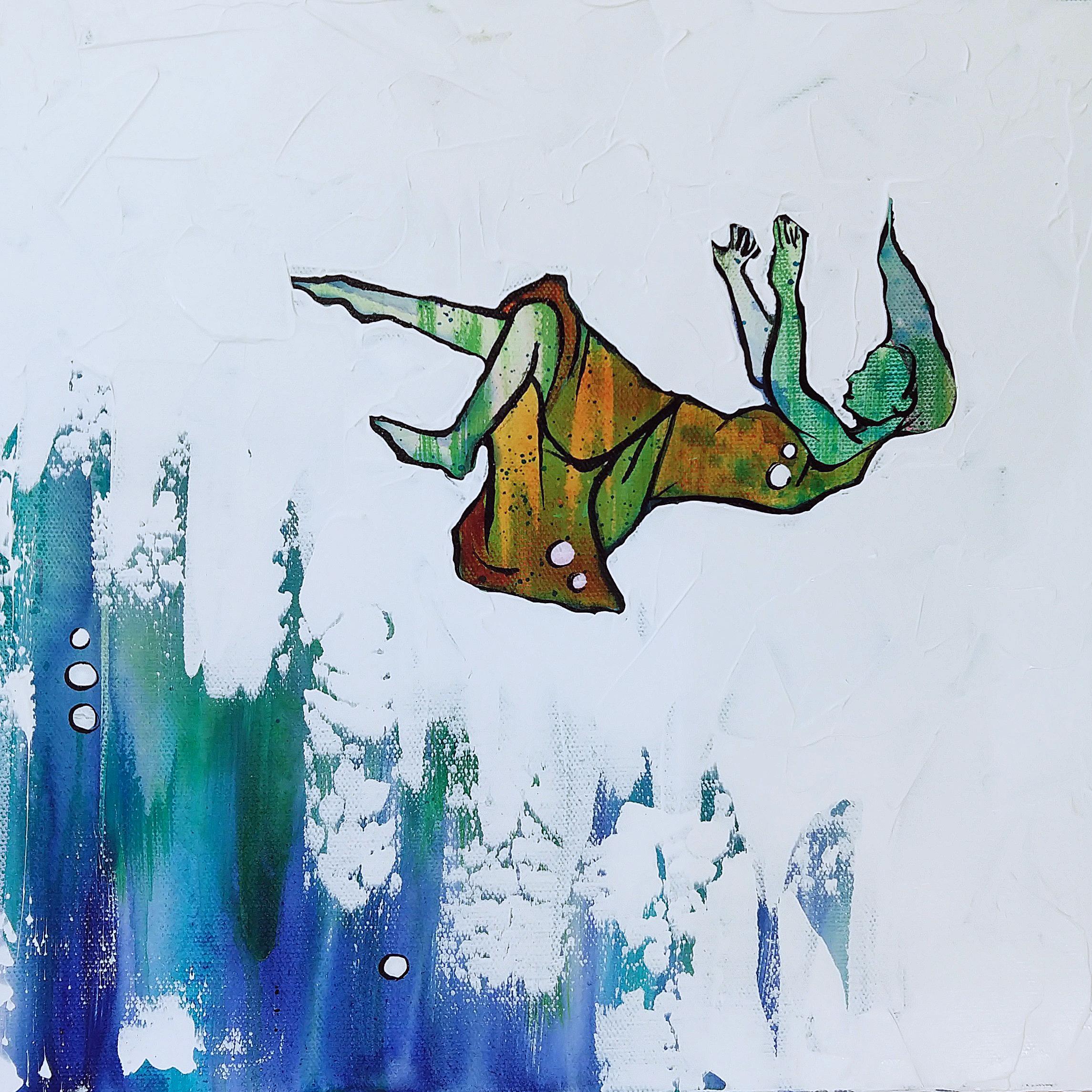 Float   |  12 x 12 inch acrylic on canvas