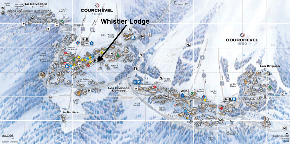Location - Whistler Lodge
