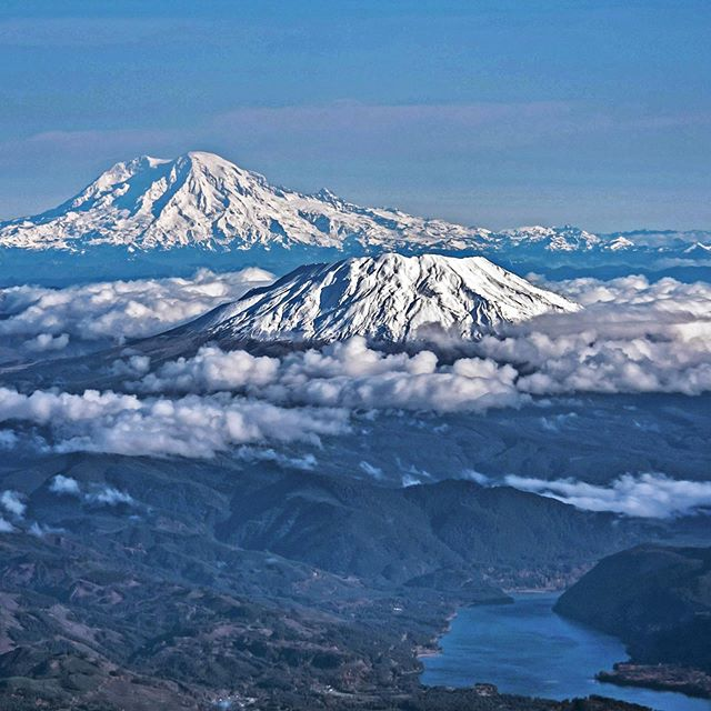 We're getting excited & prepared to climb our first PNW peak, Mount Adams in a couple of weeks 🏔☝🏻️It's the second highest peak in Washington, with its bigger sister Mt Rainier in the background! Who else has a mountain climb planned 🙌🏻? ⠀⠀⠀⠀⠀⠀⠀⠀⠀⠀⠀⠀⠀⠀⠀⠀⠀⠀⠀⠀⠀⠀ ⠀⠀⠀⠀⠀⠀⠀⠀⠀⠀⠀⠀⠀⠀⠀⠀⠀⠀⠀⠀⠀⠀