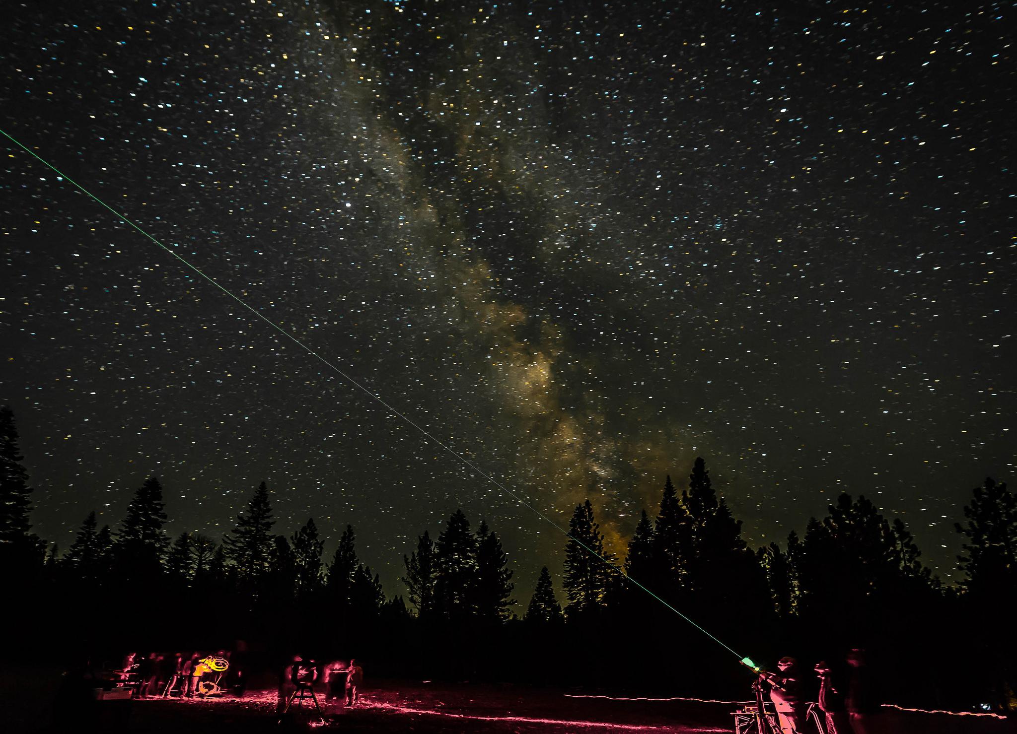 Lassen Dark Sky Festival. Photo courtesy Lassen Volcanic National Park, by volunteer photographer Alison Taggart-Barone.