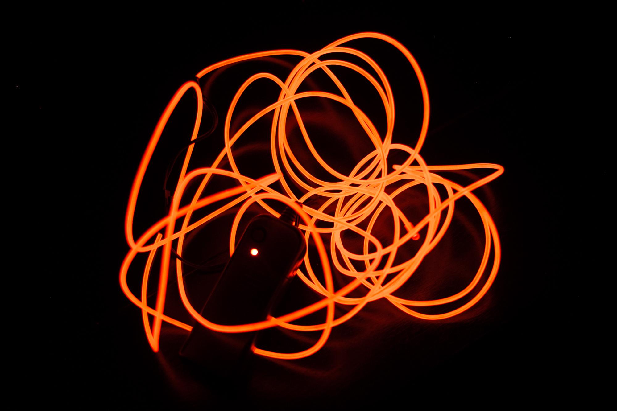 Figure 8. EL Wire.