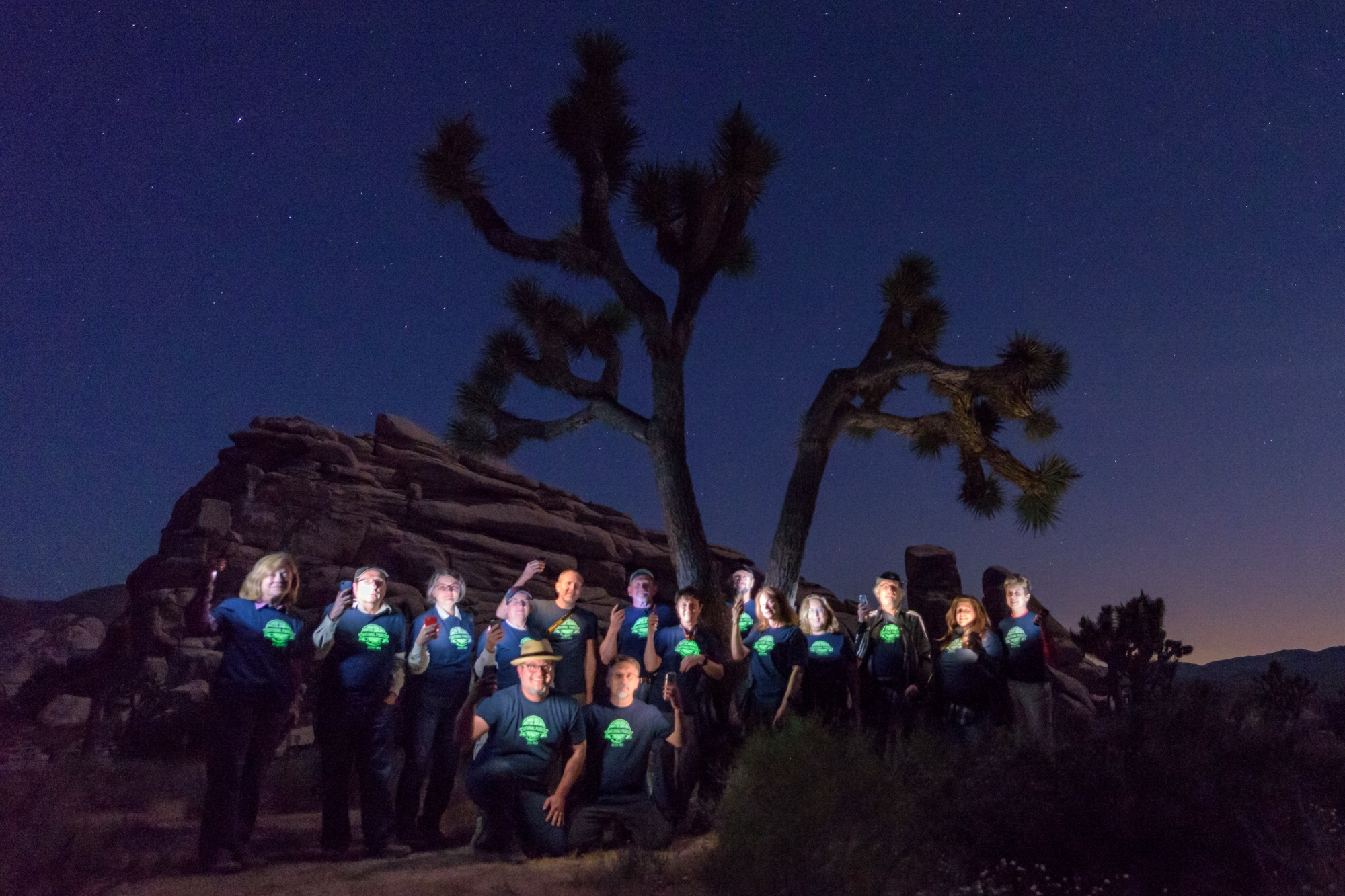 The Joshua Tree Week 2 group