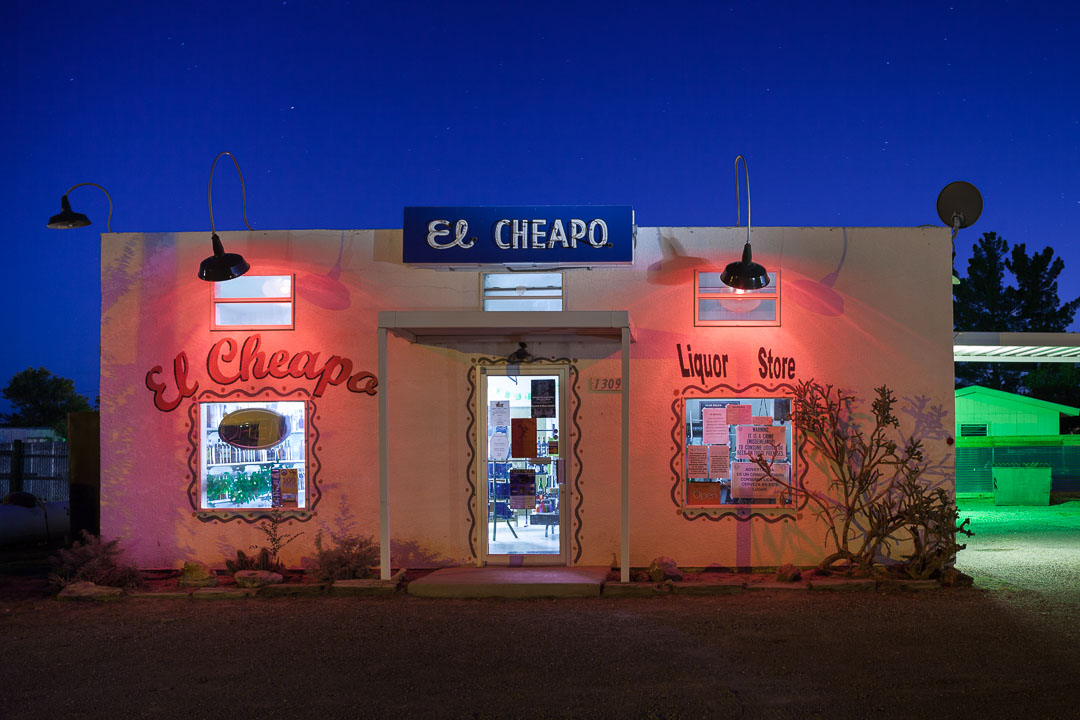 """El Cheapo."" 30 seconds, f/8, ISO 100.  Canon 5D Mark II , Olympus Zuiko 35mm f/2.8 PC shift lens."