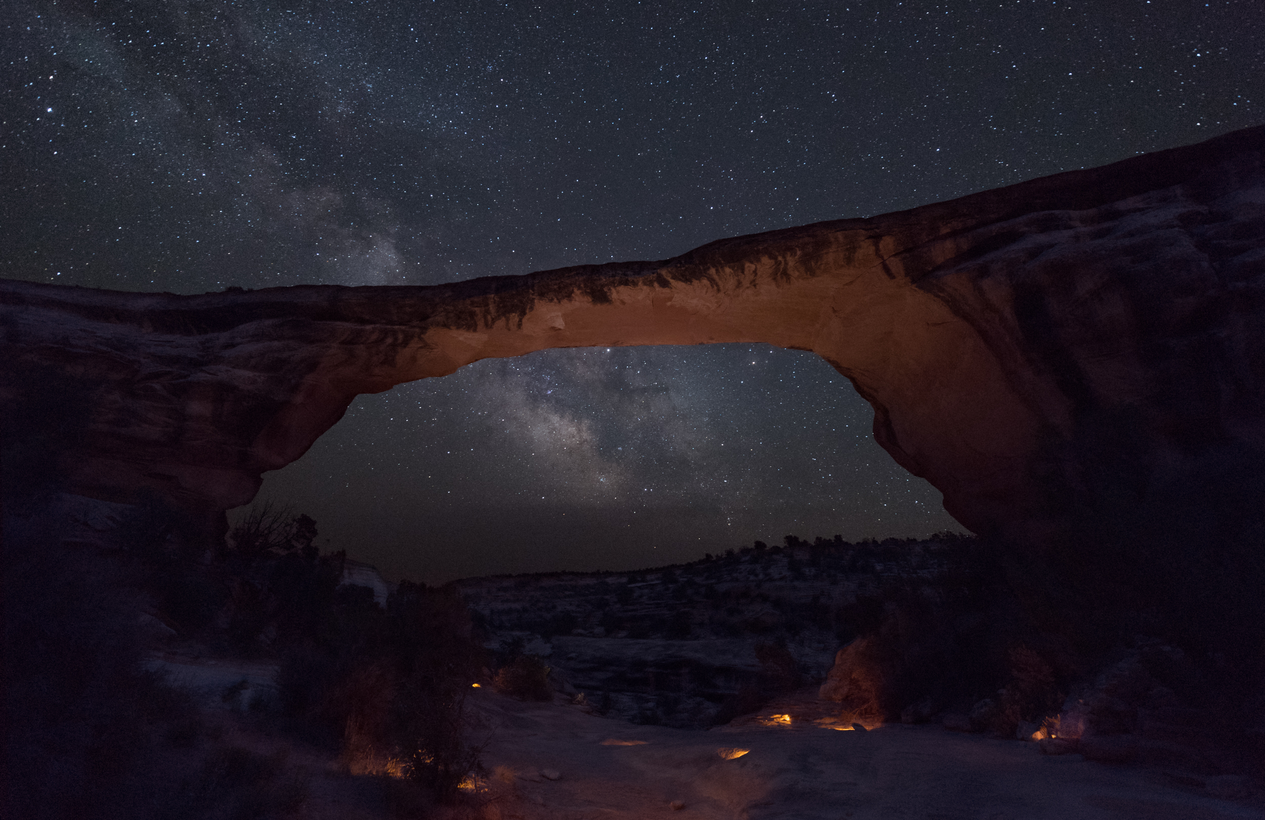 Owachomo Bridge in  Natural Bridges National Monument , as photographed during our workshop there this summer.