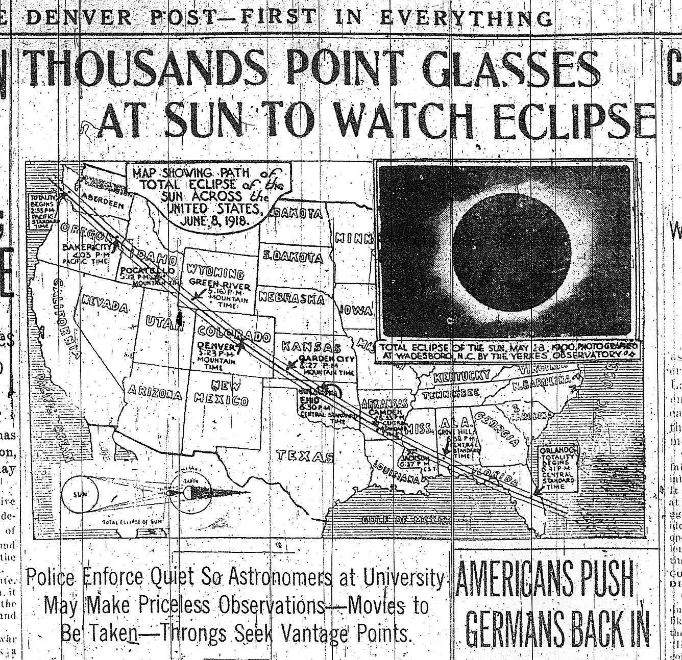 The last trans-U.S. total solar eclipse happened … well, awhile ago.