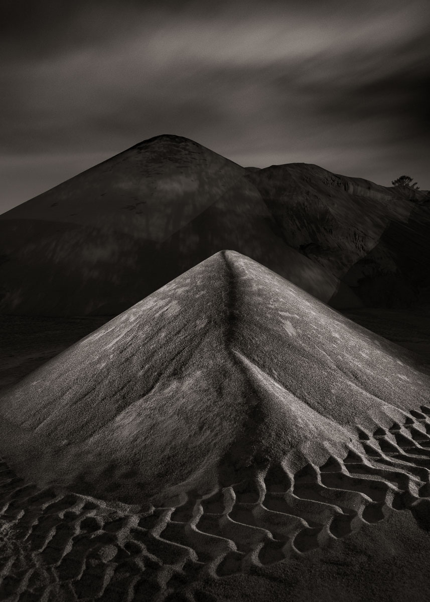 "Lance Keimig, ""Sand Pit,"" 2016. This image could have been made 30 years ago when I started photographing at night, but it was shot a year ago, in October of 2016."