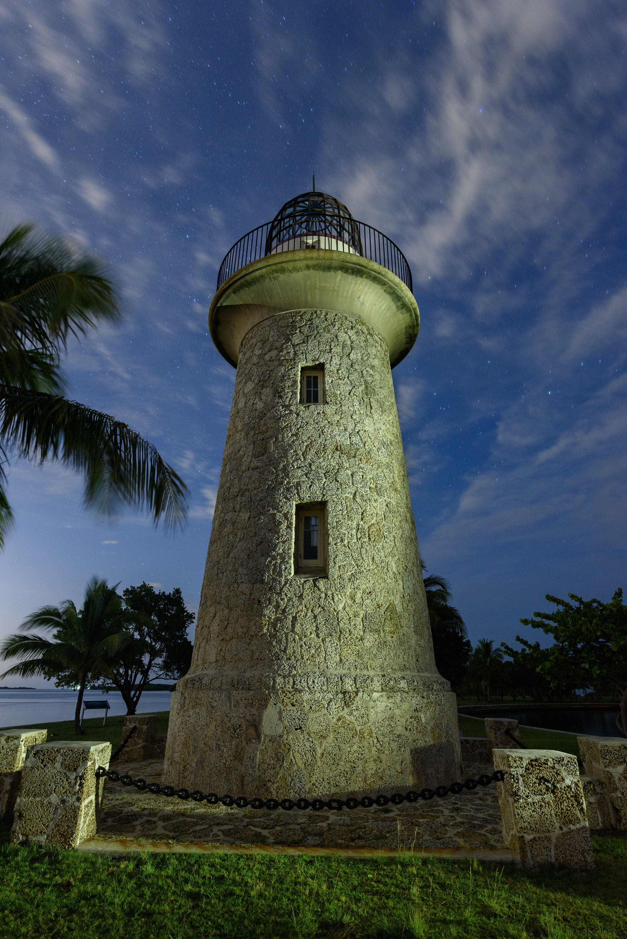 Boca Chita Lighthouse will be just one of our many explorations at Biscayne … at night!. © 2017 Gabriel Biderman.