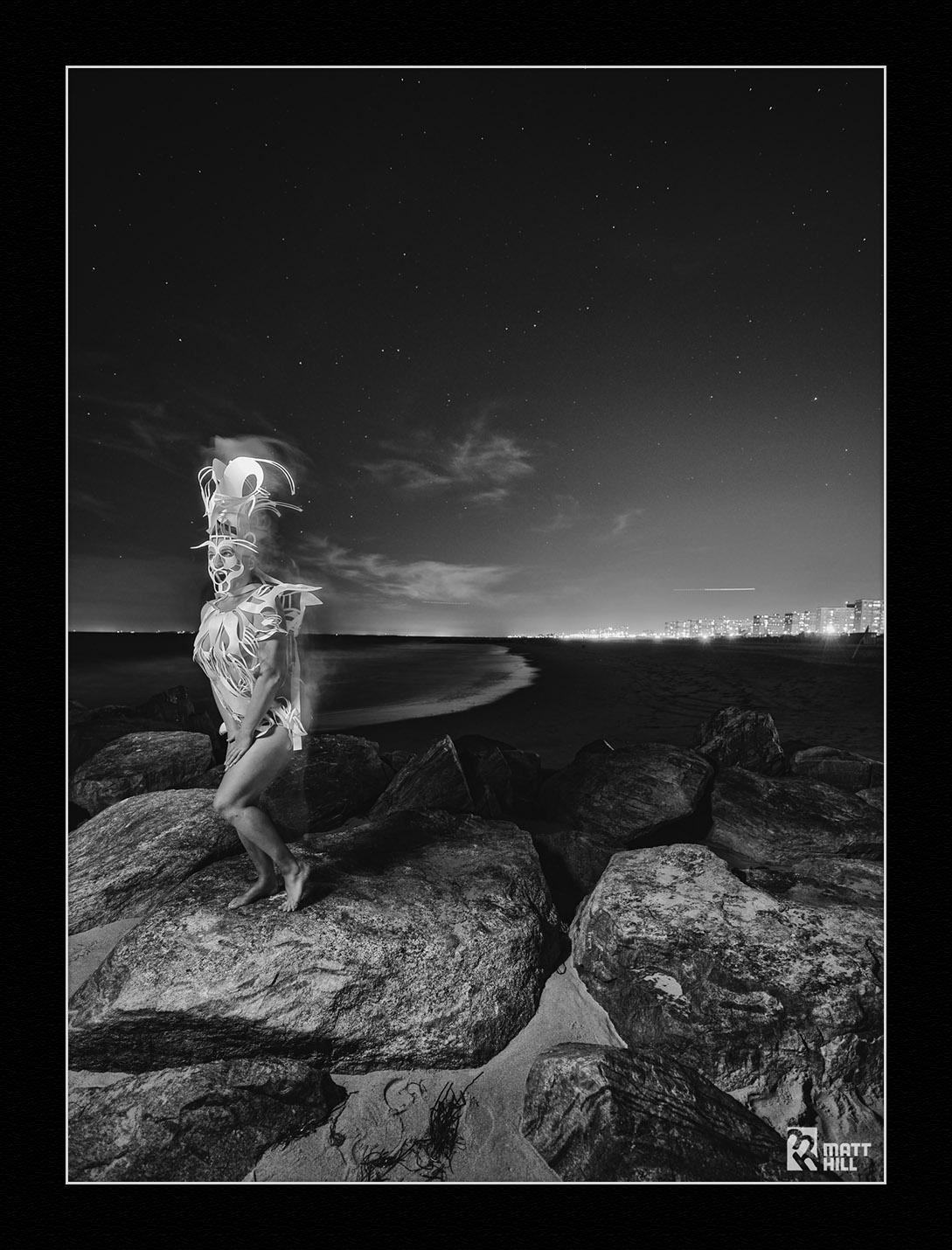 Heather Whatever at Rockaway Beach. © Matt Hill.