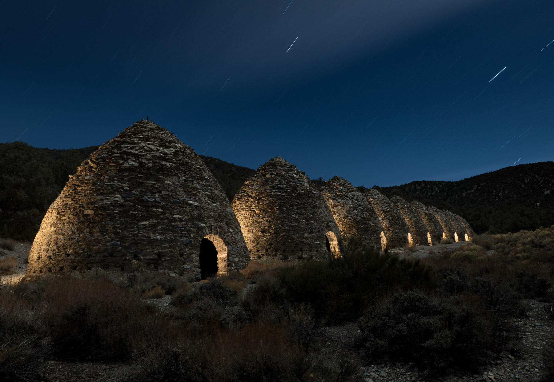 """ How We Got The Shot: Wildrose Charcoal Kilns Of Death Valley National Park """