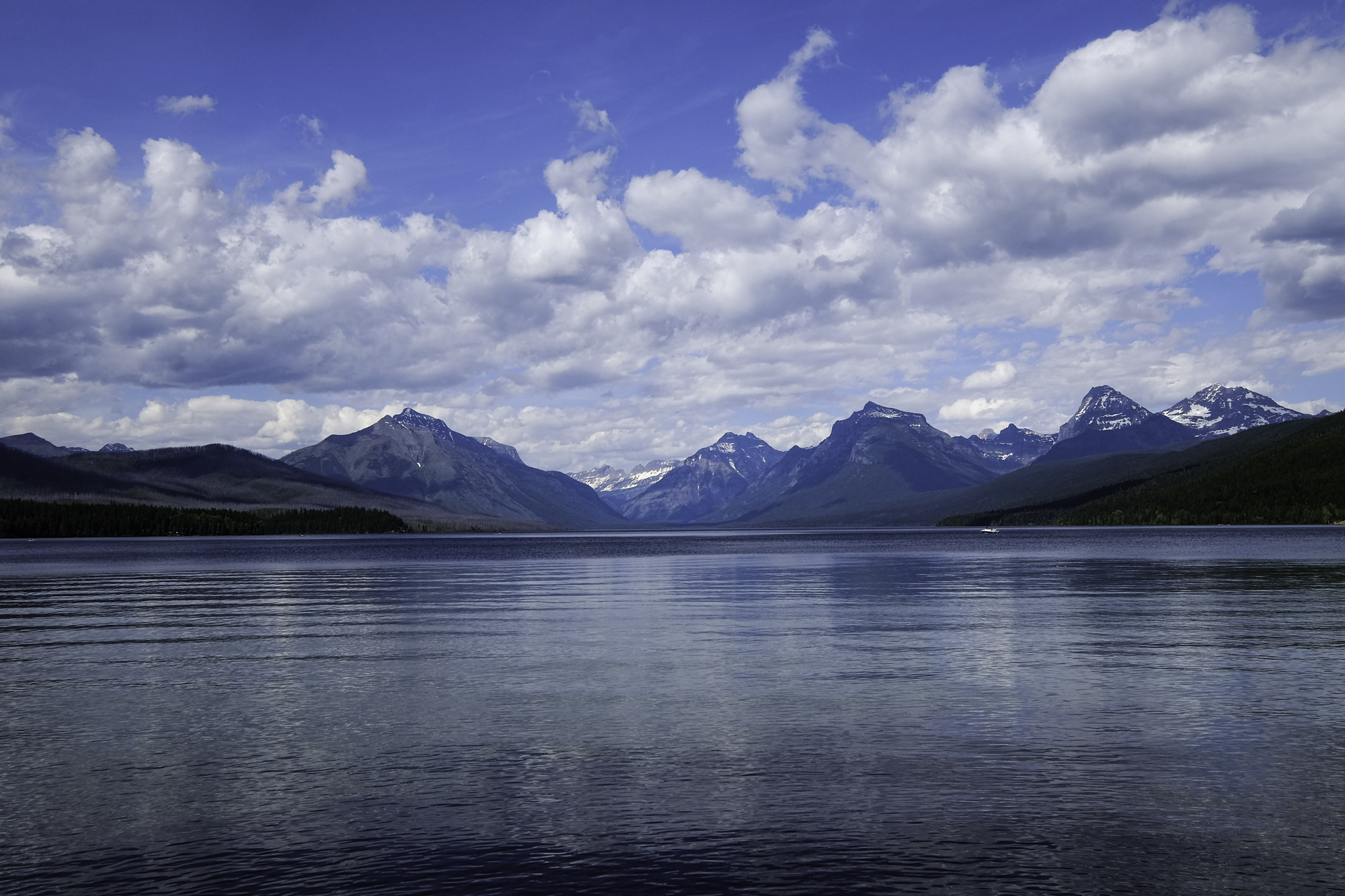 Scouting photo of Lake McDonald in  Glacier National Park .