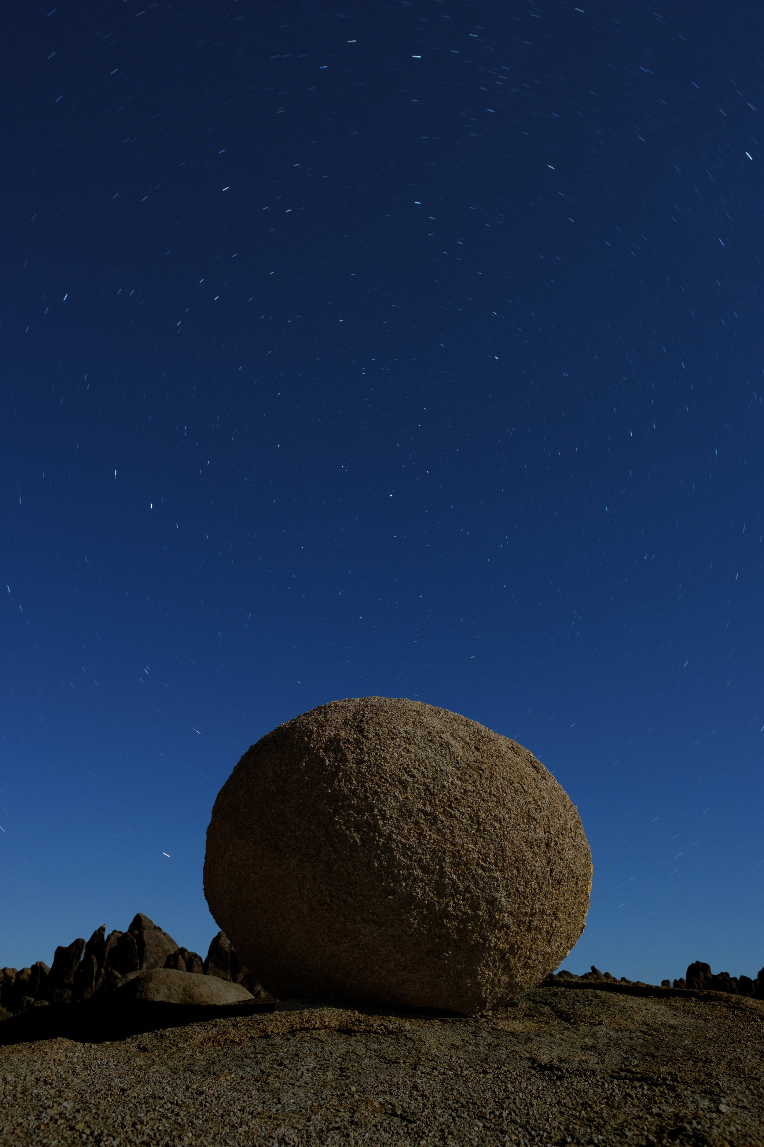 Compose, focus, ambient light exposure. Fuji X-T2 with 16mm f/4 lens. 4 minutes, f/5.6, ISO 100.