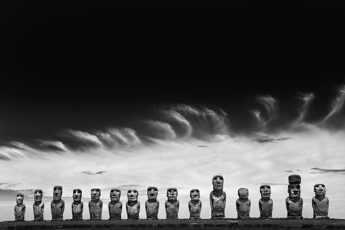 Easter Island—COMPLETED - Enigmatic Easter Island. At night. Need we say more?