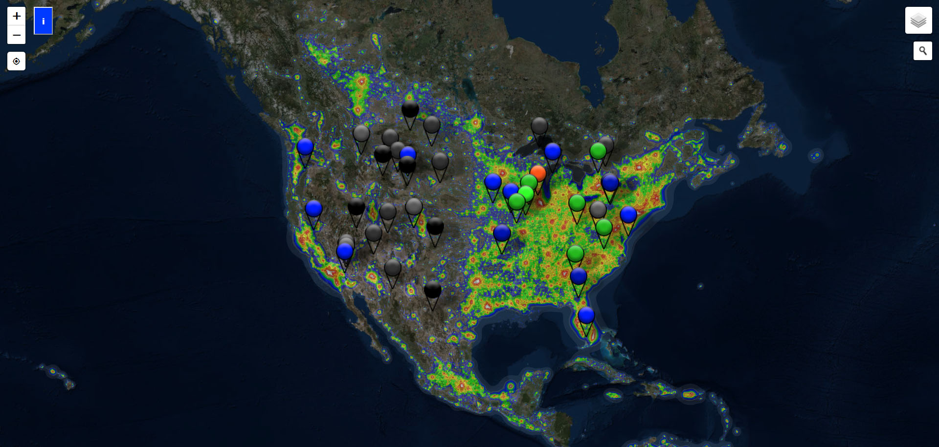 If you want to determine the best dark-sky areas near you, check out  DarkSkyFinder.com , which maps dark sky areas around the globe.