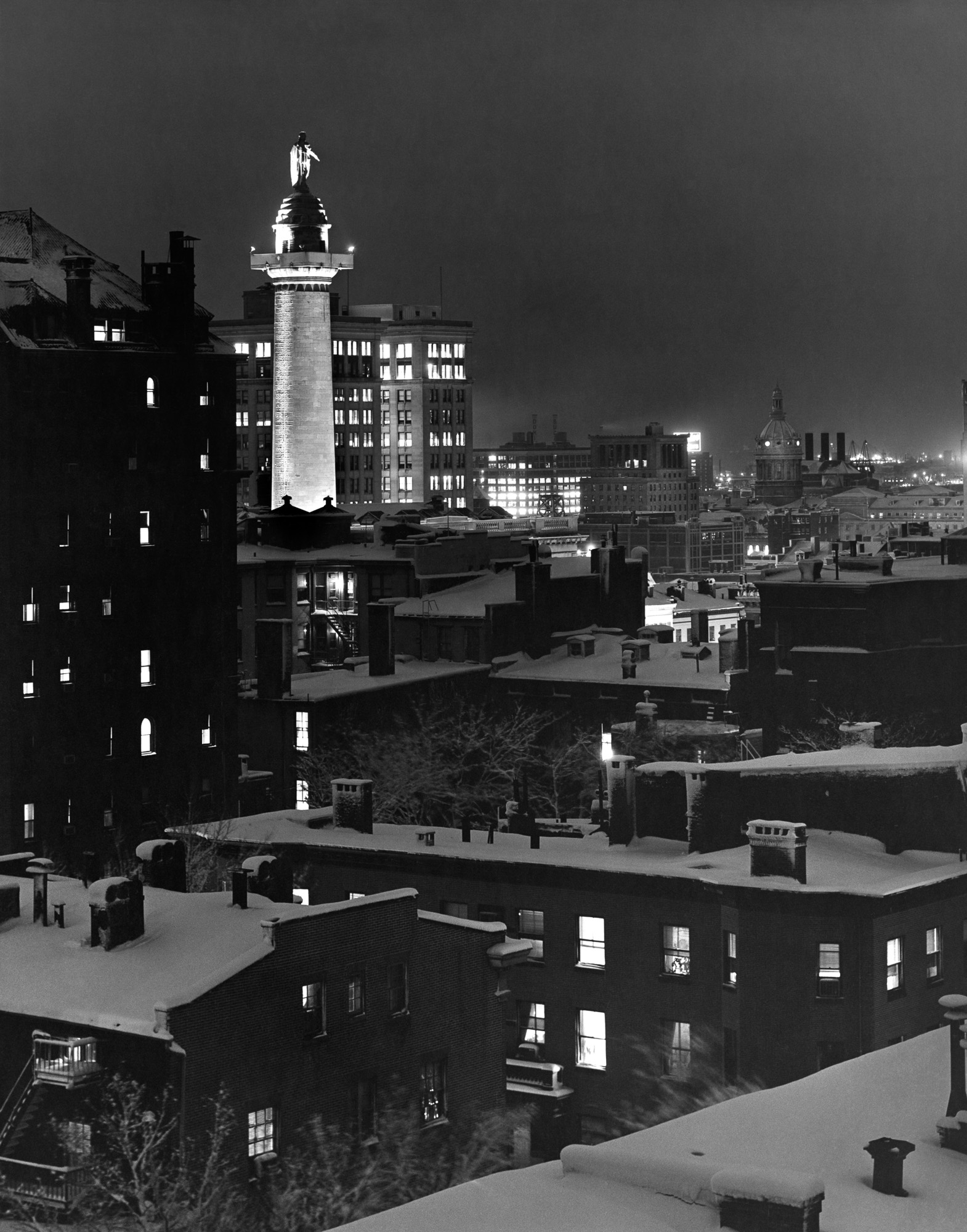 Rooftops of Mt. Vernon, 1950