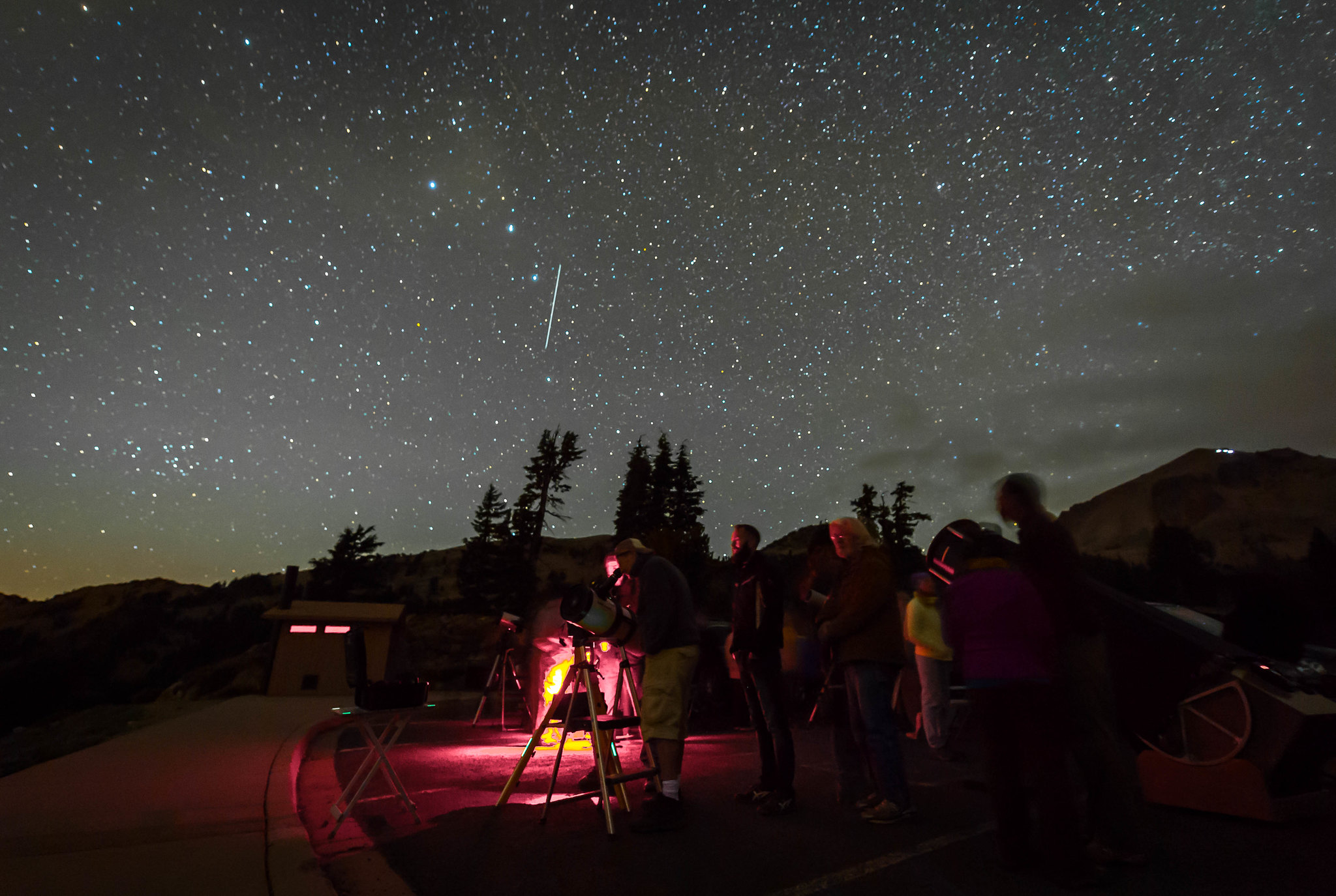 Lassen Volcanic National Park  Dark Sky Festival. Photo by NPS/Alison Taggart-Barone.