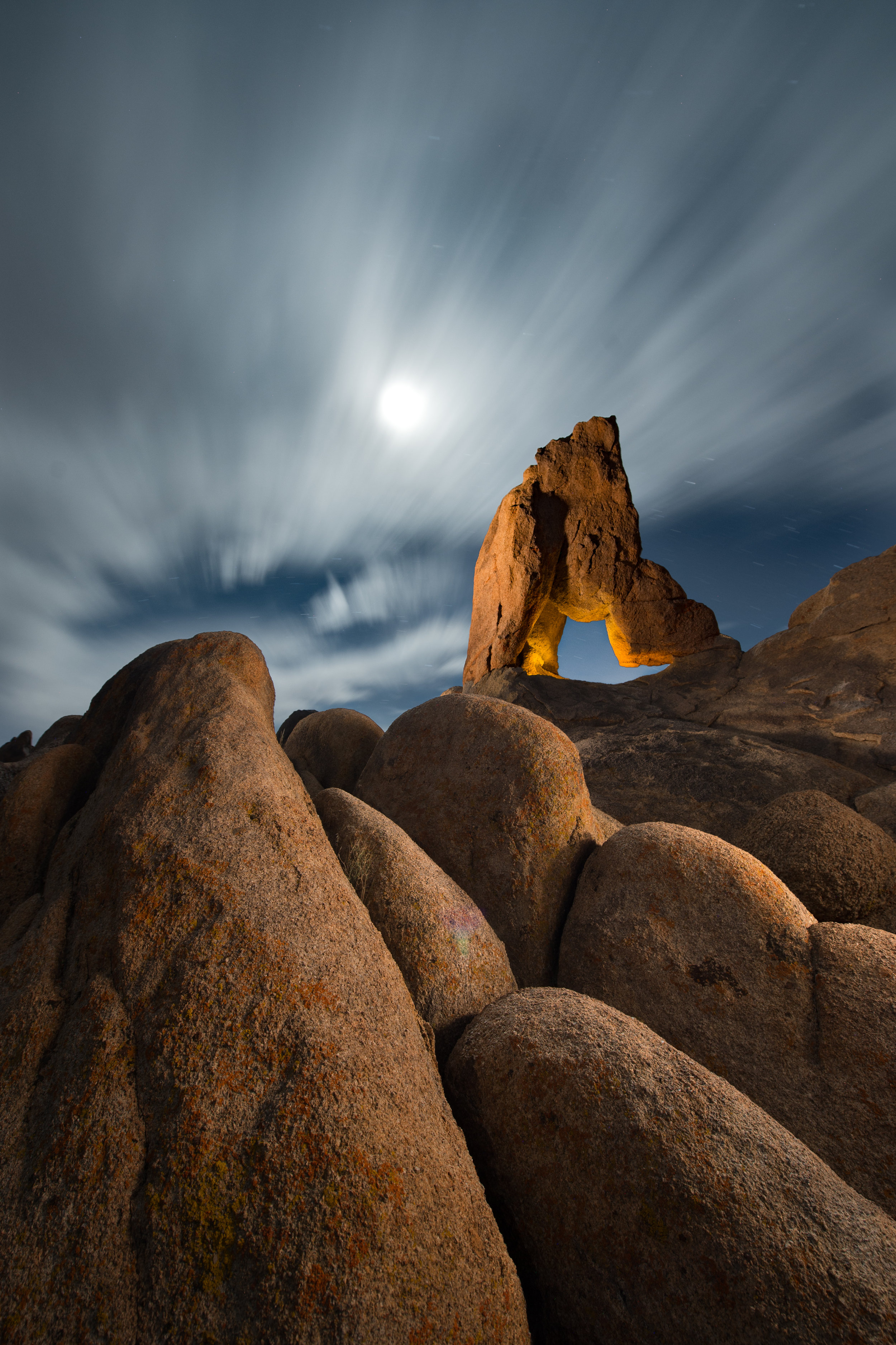 """""""Moonrise over Lady Boot Arch"""""""