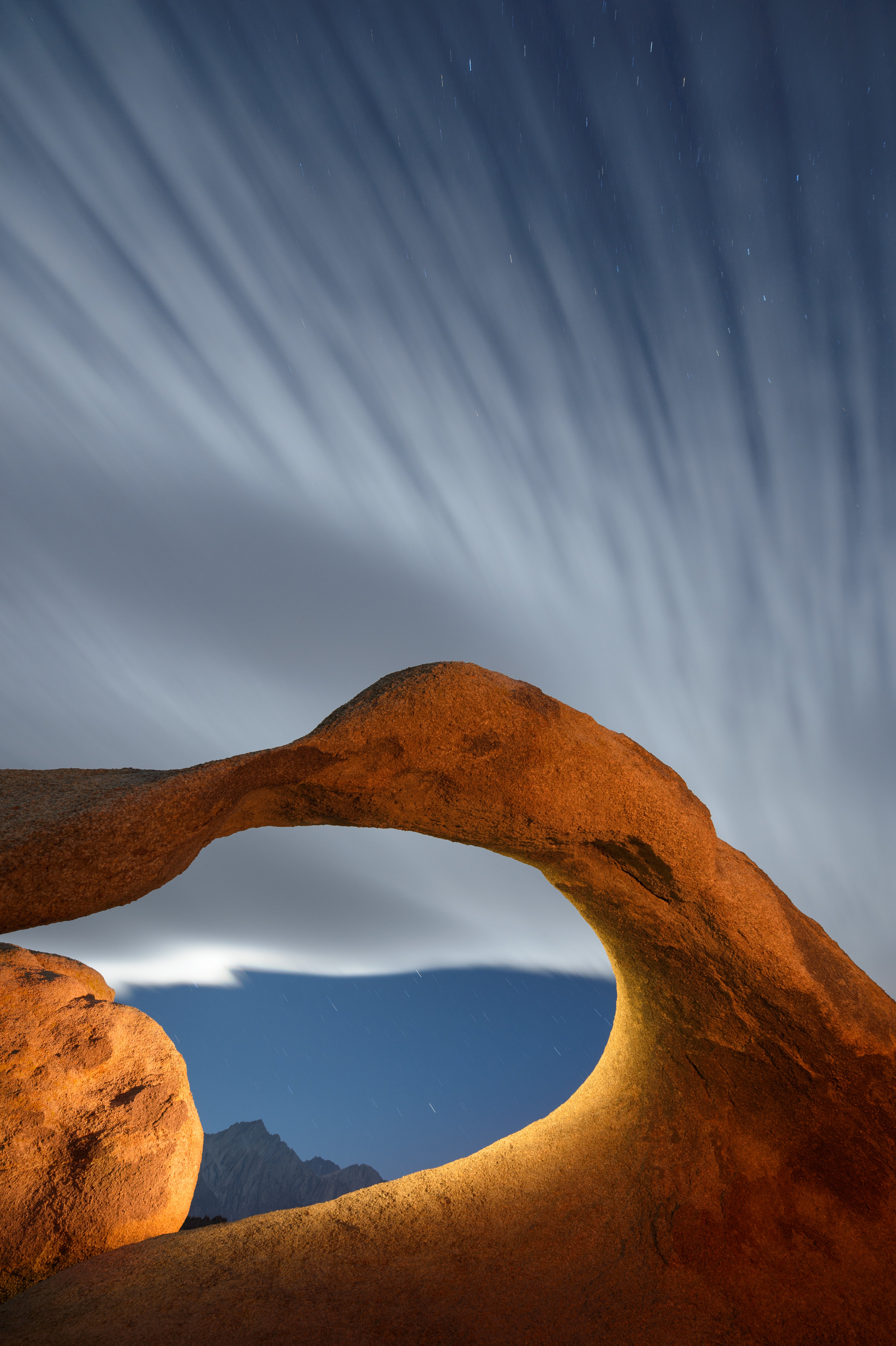 Clouds, Mobius Arch
