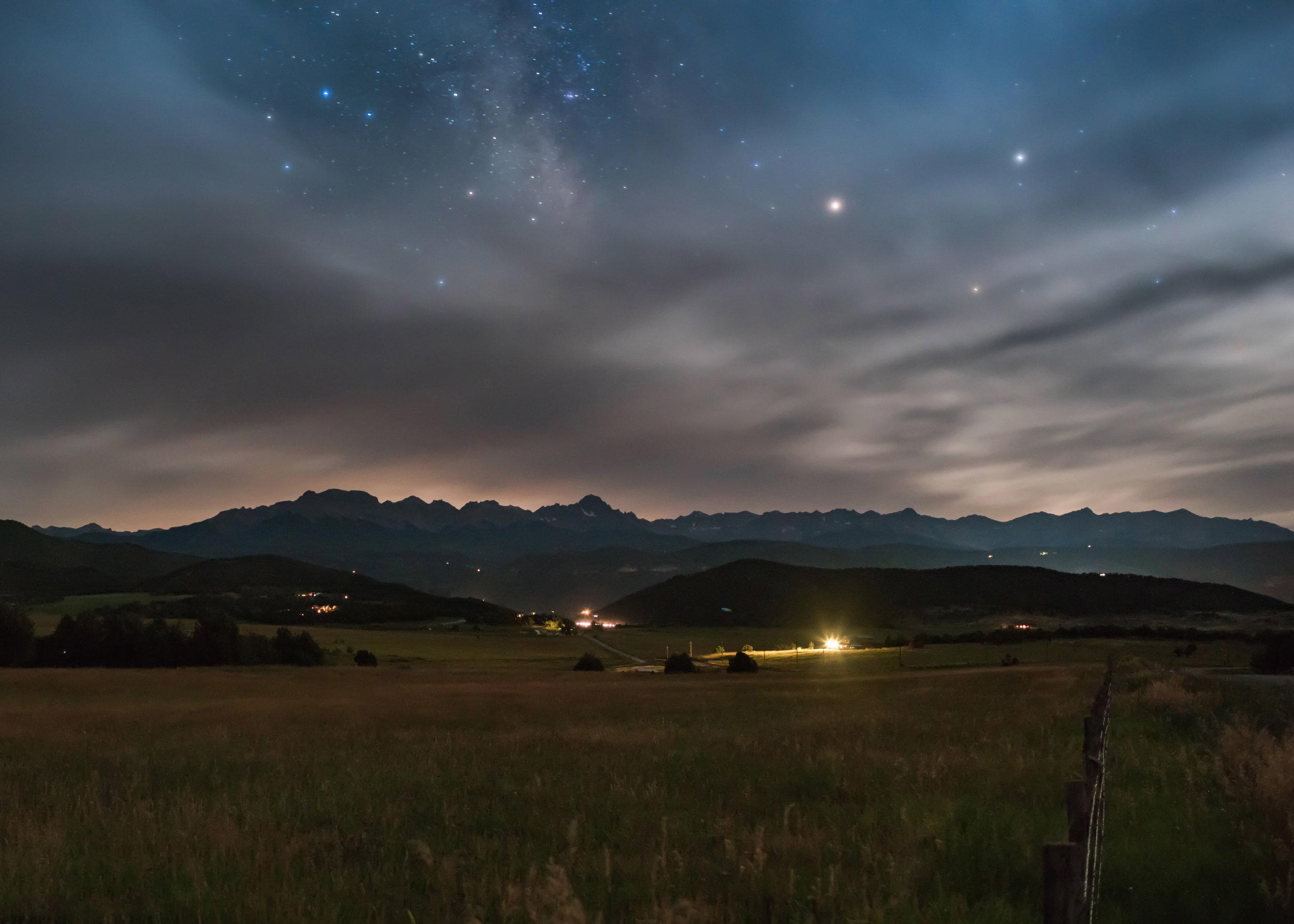 Milky Way near Ouray
