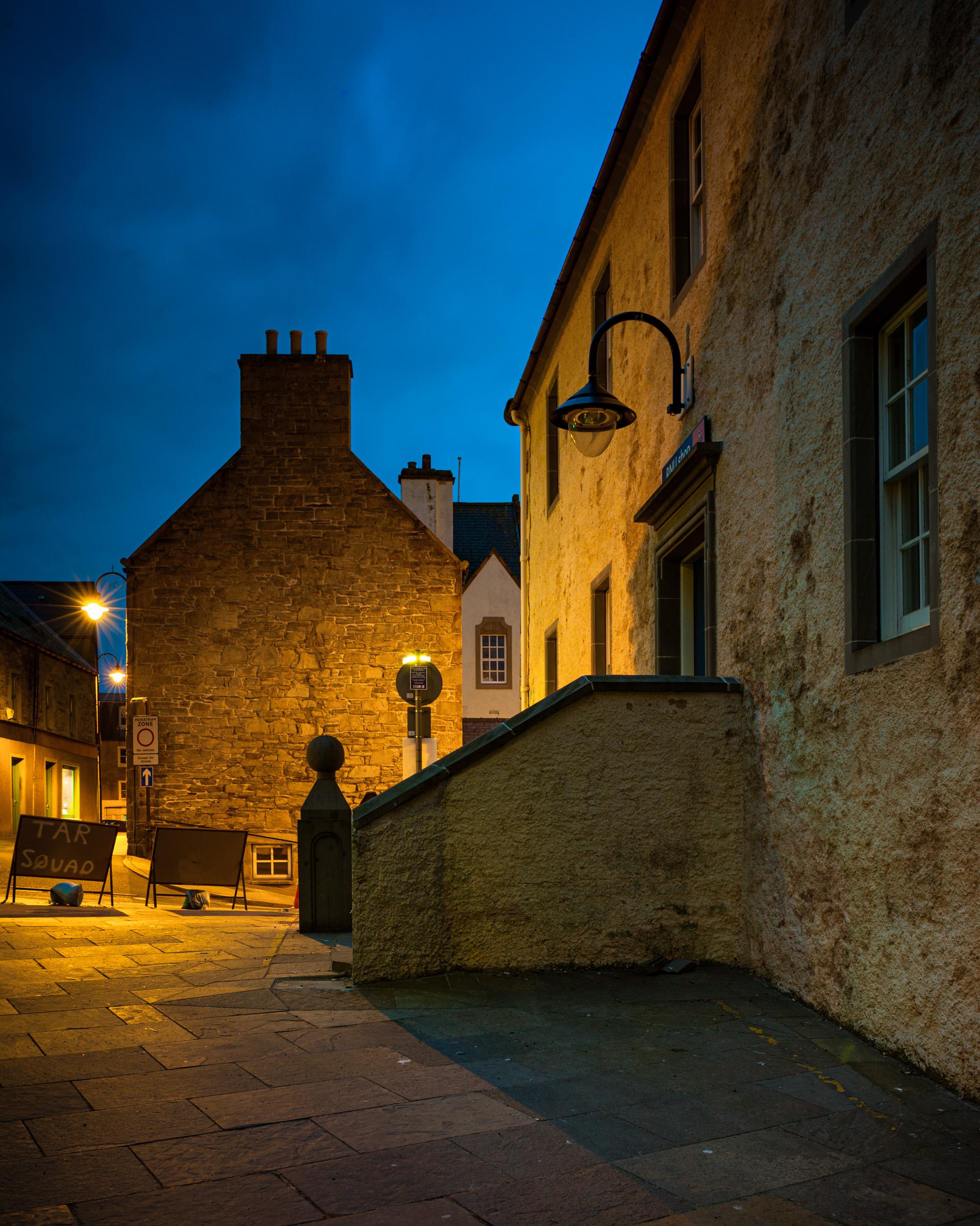 Lerwick, Shetland, Scotland. Canon 5D Mark II, Zuiko Shift 24mm f/3.5 lens. 10 seconds, f/8, ISO 100.