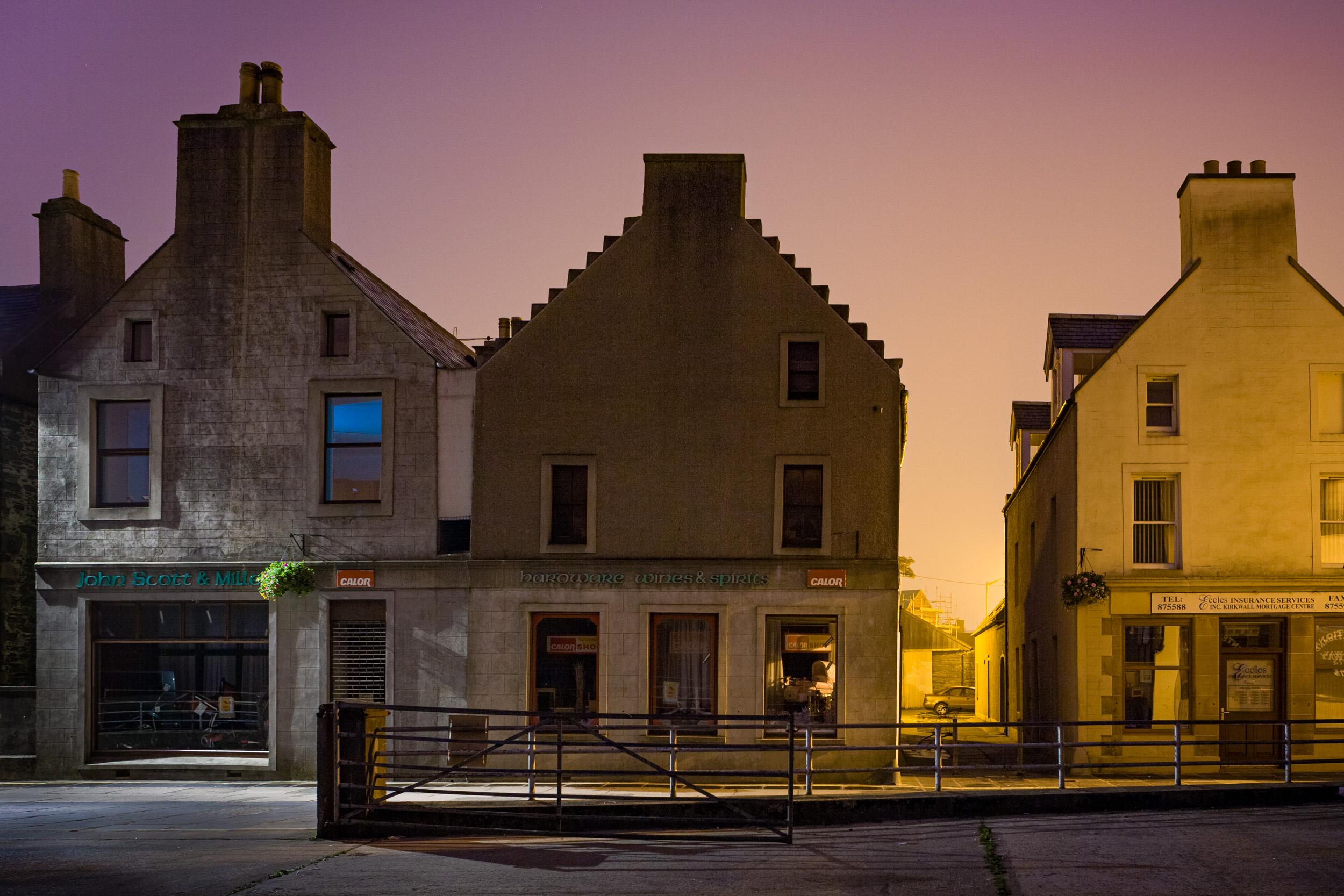 9. Kirkwall, Orkney, Scotland.