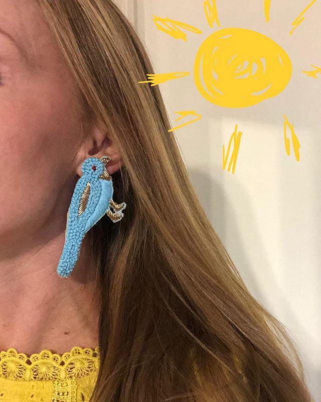 ☀️☀️☀️☀️☀️☀️☀️☀️☀️ TACK BIRDIES ☀️☀️☀️☀️☀️☀️☀️☀️☀️ www.tackcreations.com #tackcreations #summer2019☀️ #earbobshop #birdies #lightasafeather #makeastatement #madewithlove