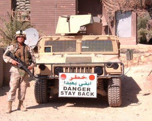 Gunny in Iraq