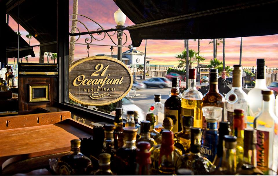 Happy Hour at 21 Oceanfront Restaurant Newport Beach