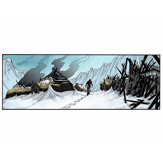 Devastation... From VARGÖLD Book one