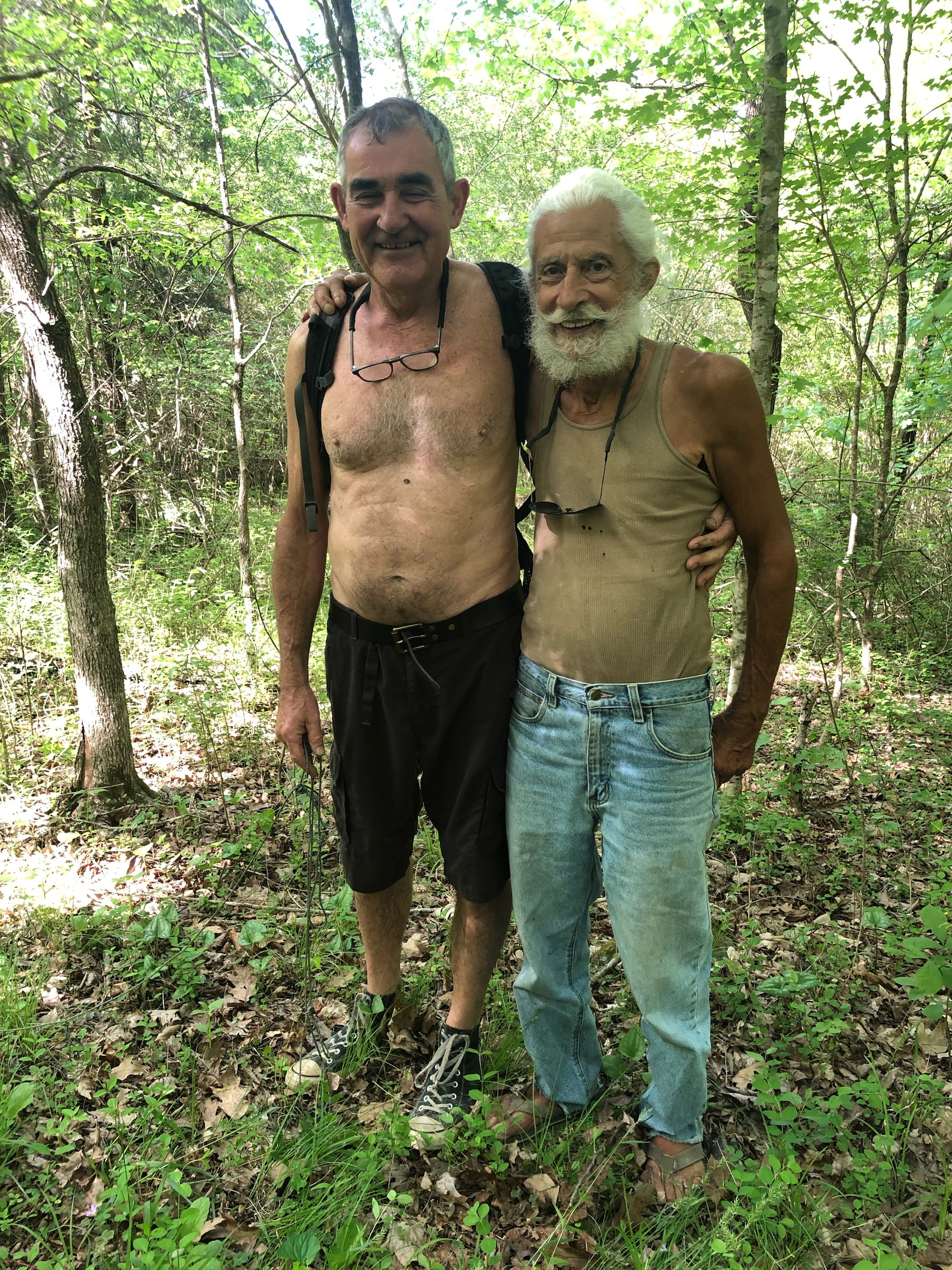 Will Endres and long time friend Armand Boyer