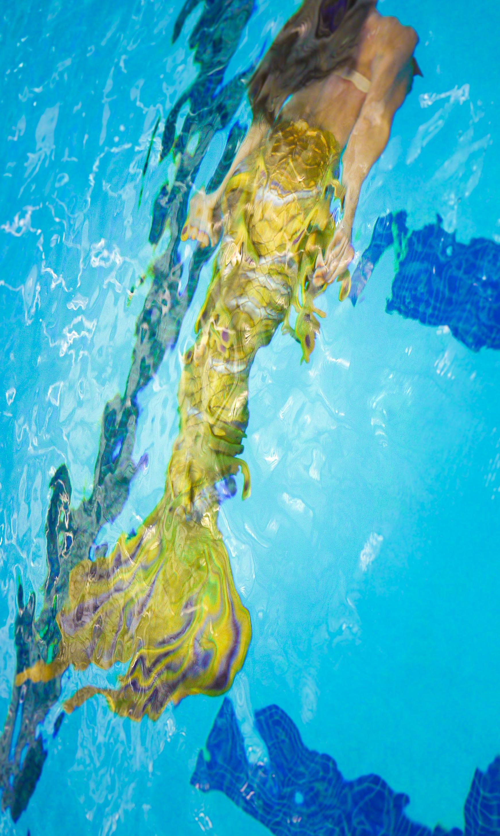 Swimming at Merfest 2015