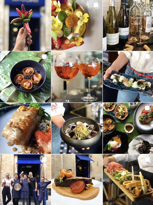 Les Foodies - Paris FranceModern European Asian