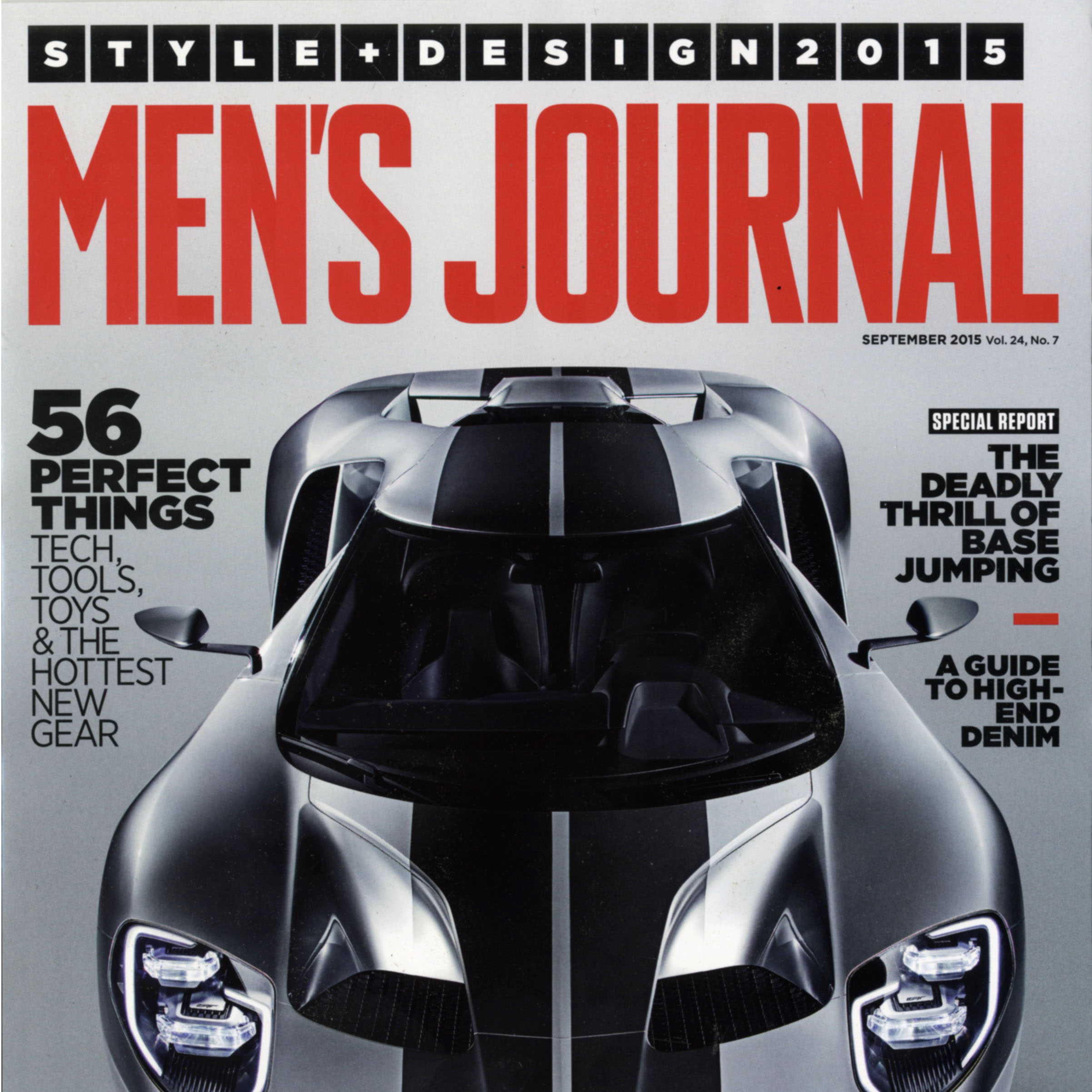 Men's Journal, Sept. 2015
