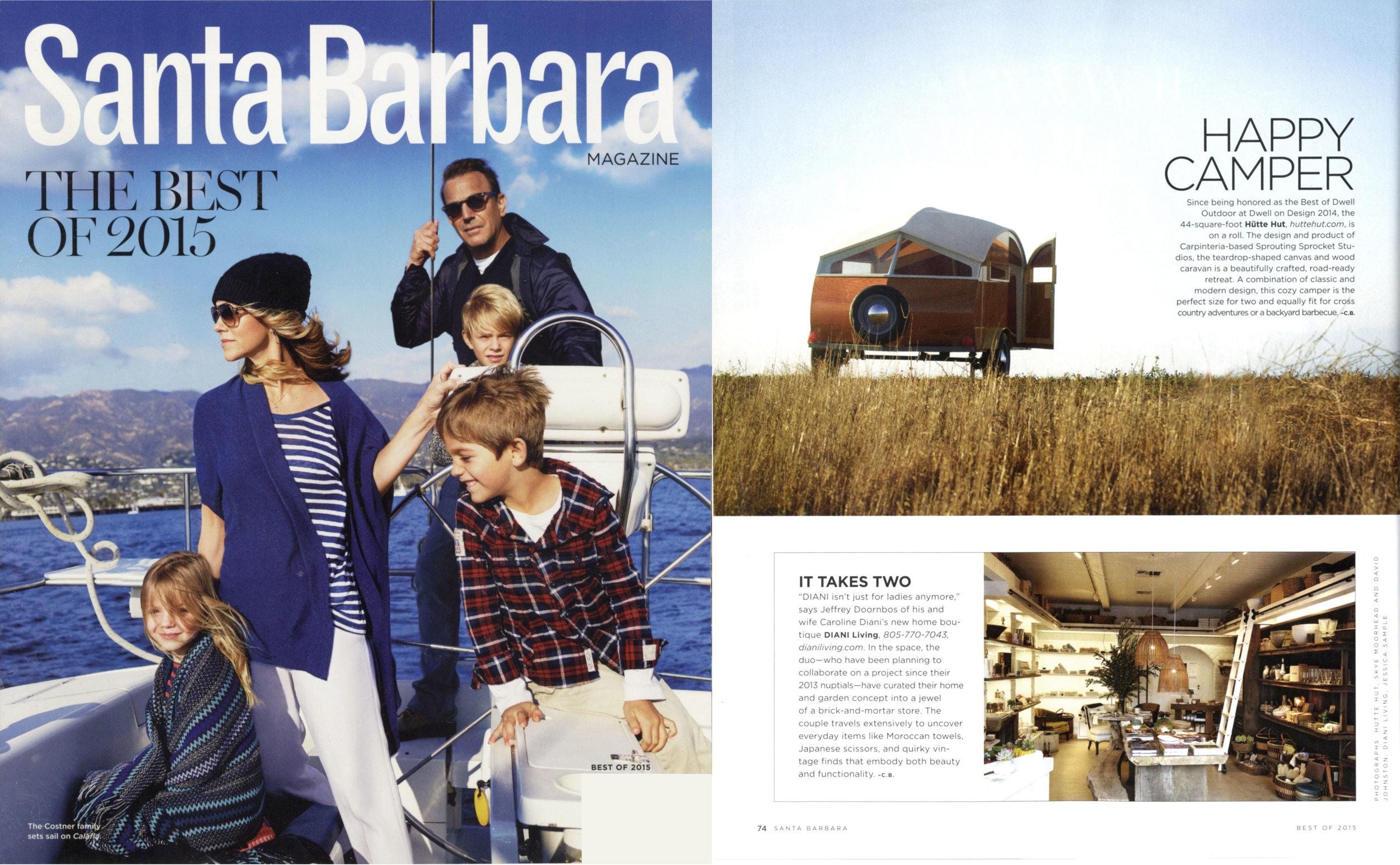 Santa Barbara Magazine  Best of 2015