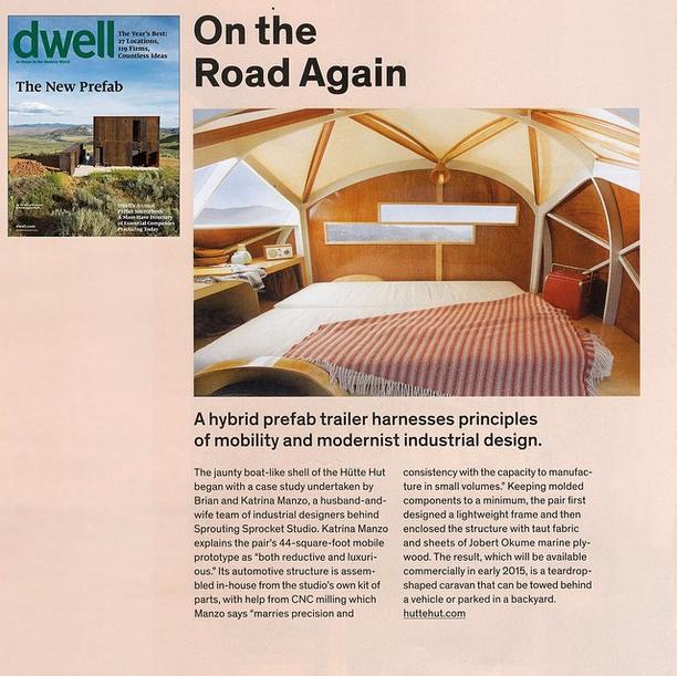 Dwell  Prefab Issue, December/January 2015