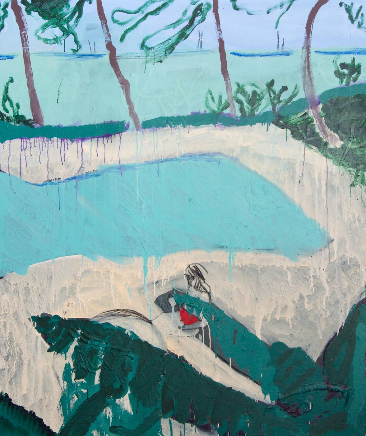 Svømmebasseng_Akrylogkullpålinlerret_160x135cm_2016.jpg