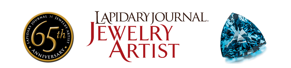 Clay Zava creates the 65th Anniversary stone for the Lapidary Journal, June 2012