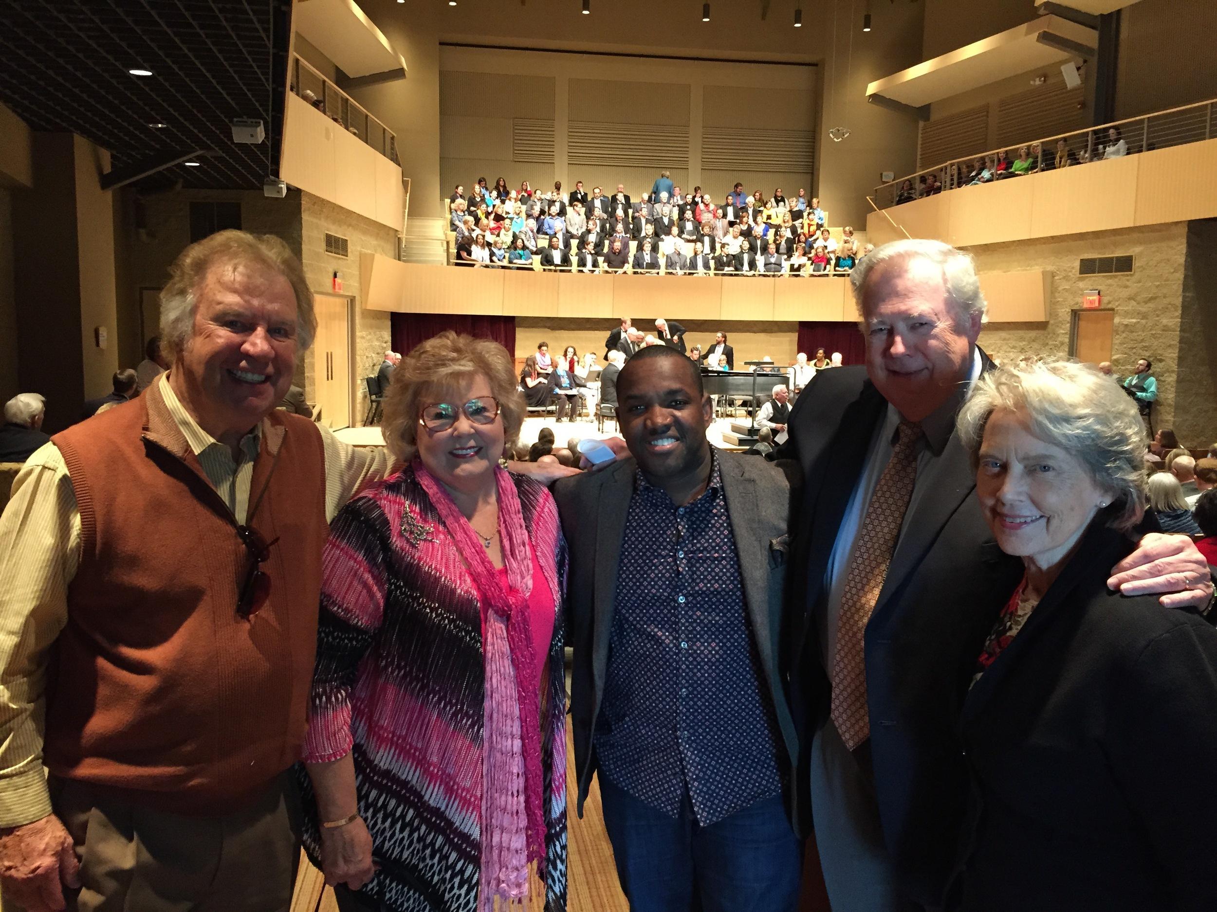 Bill and Gloria Gaither, James and Deanna Edwards