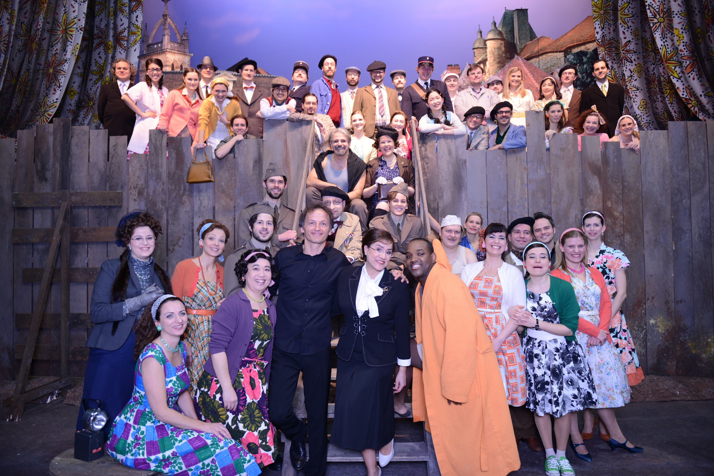 Cecilia Bartoli and cast of Le Comte Ory at Theater an der Wien