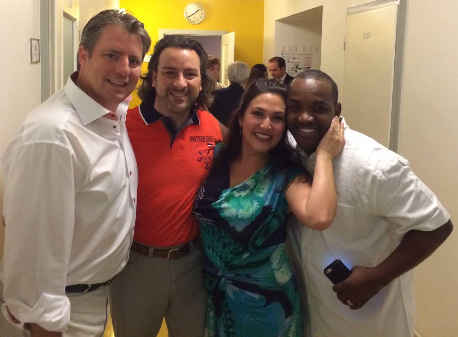 John Osborn, Matthew Polenzani, Lynette Tapia
