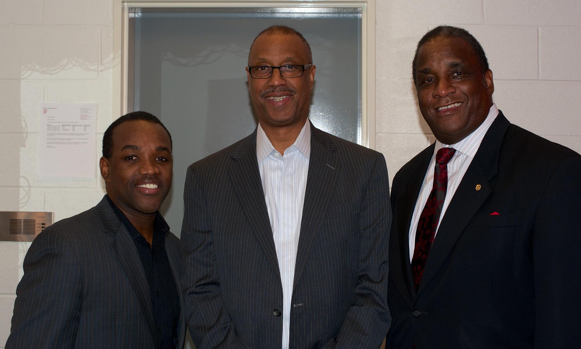 Randy Bates, Grand Polemarch of Kappa Alpha Psi, and Elder Watson Diggs Laureate