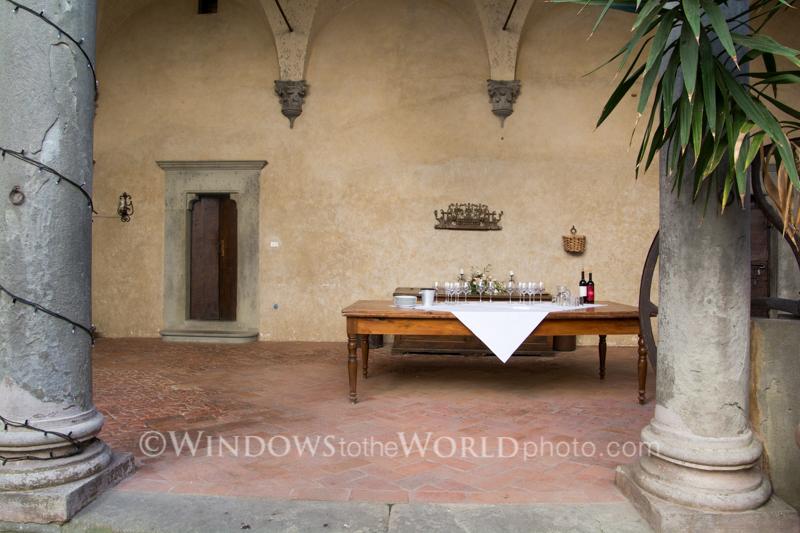 Wine Tasting, Tuscany