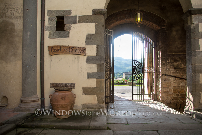Castello de Trebbio, Tuscany
