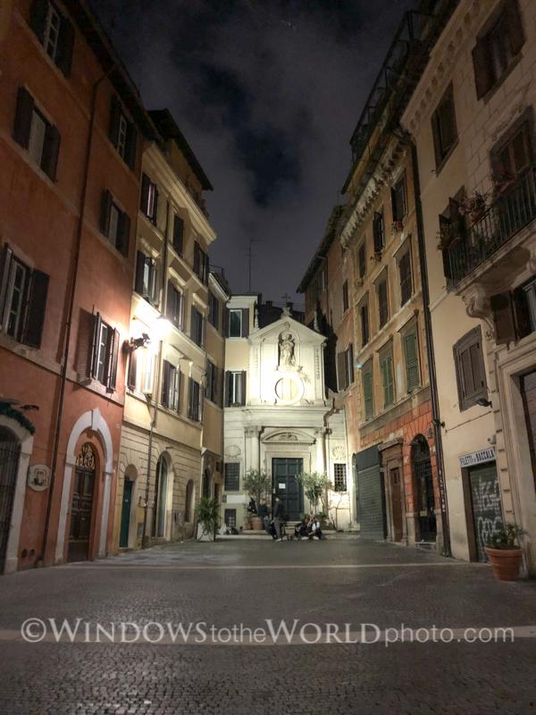Nightfall in Rome