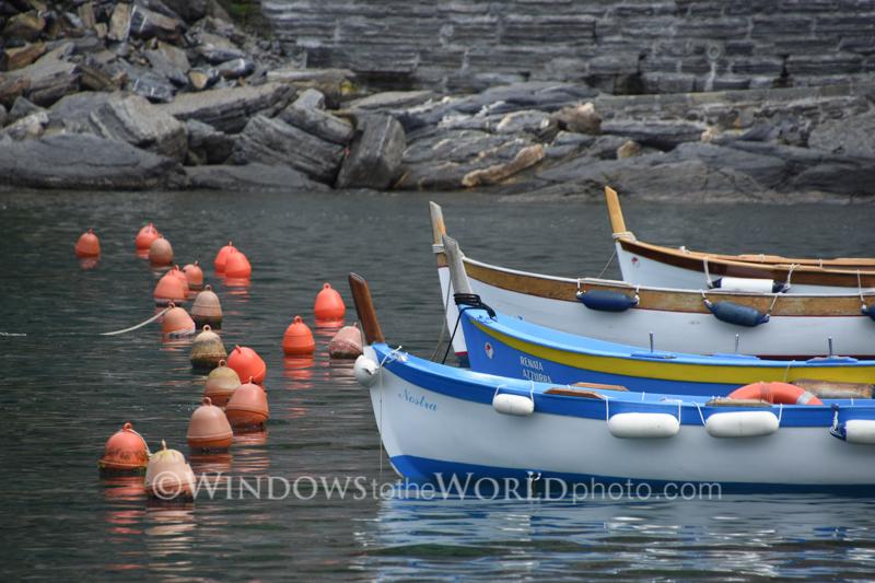 Buoys, Cinque Terre
