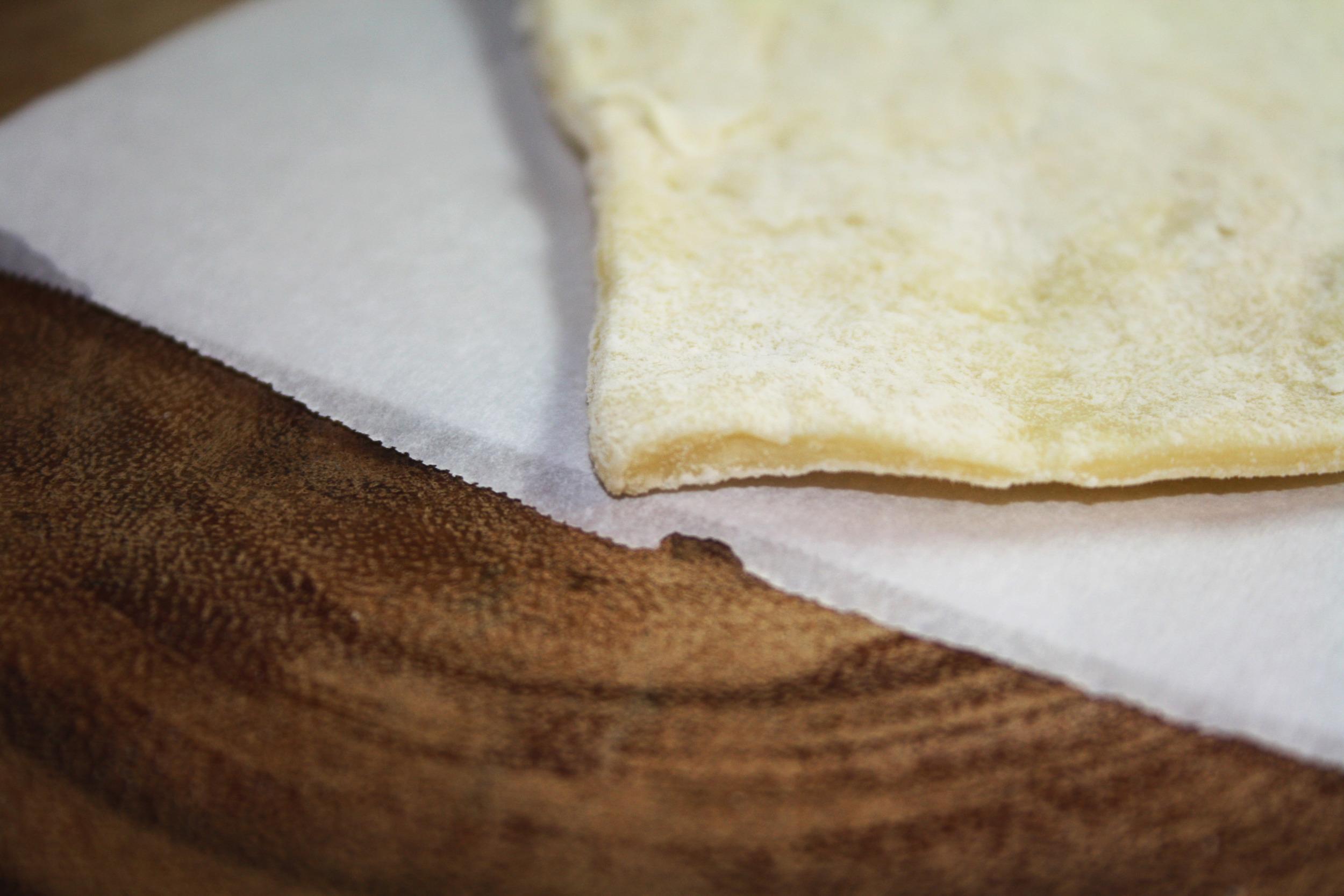 Basic empanada dough - close up