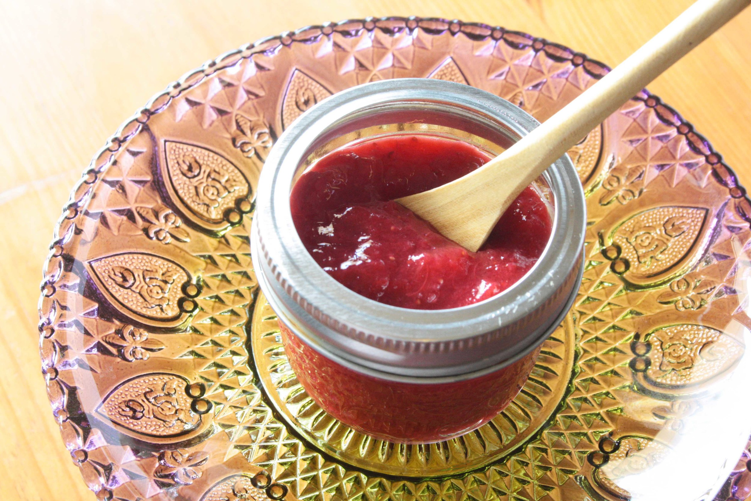 Simple Strawberry and Rhubarb Jam
