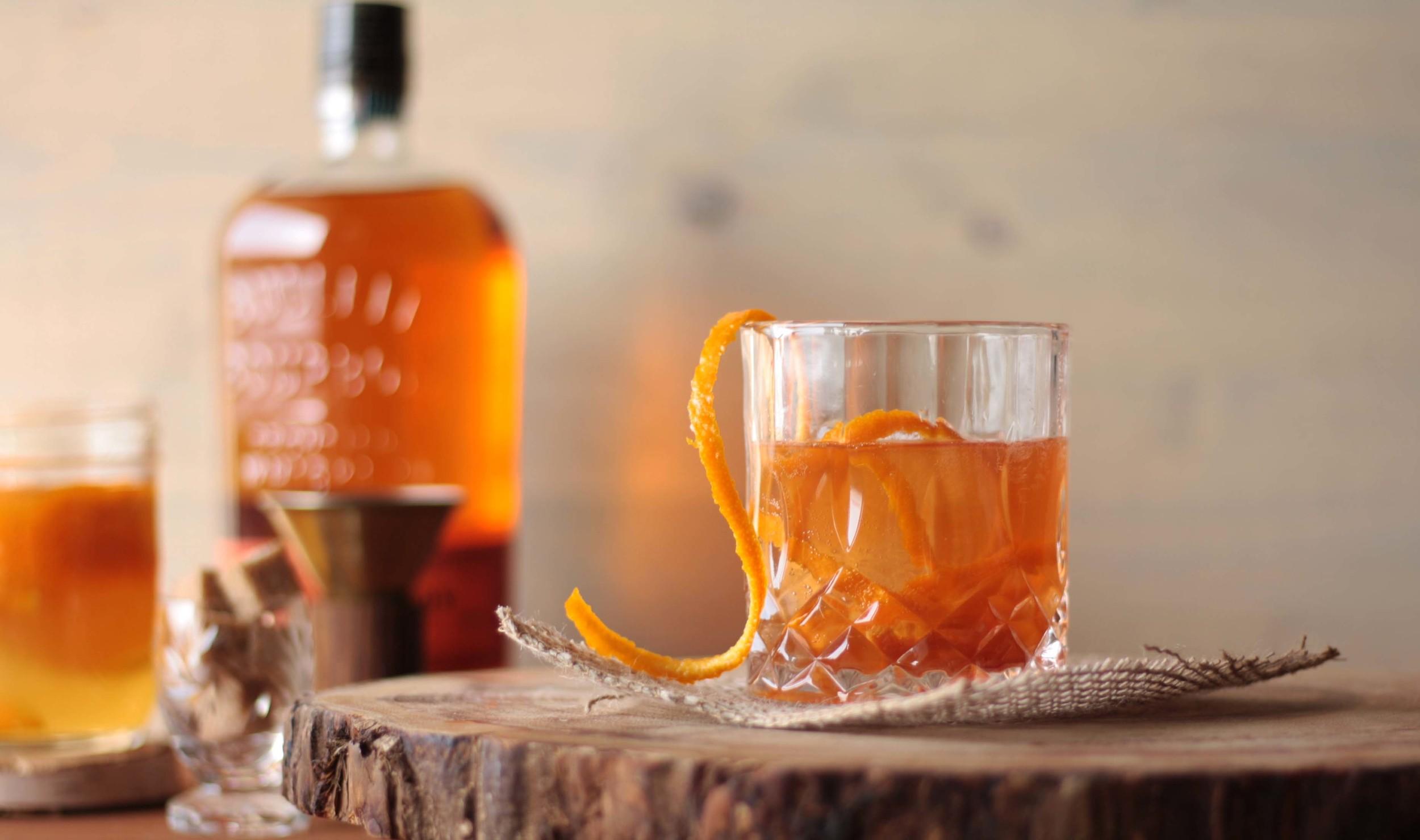 Orangey Old Fashioned