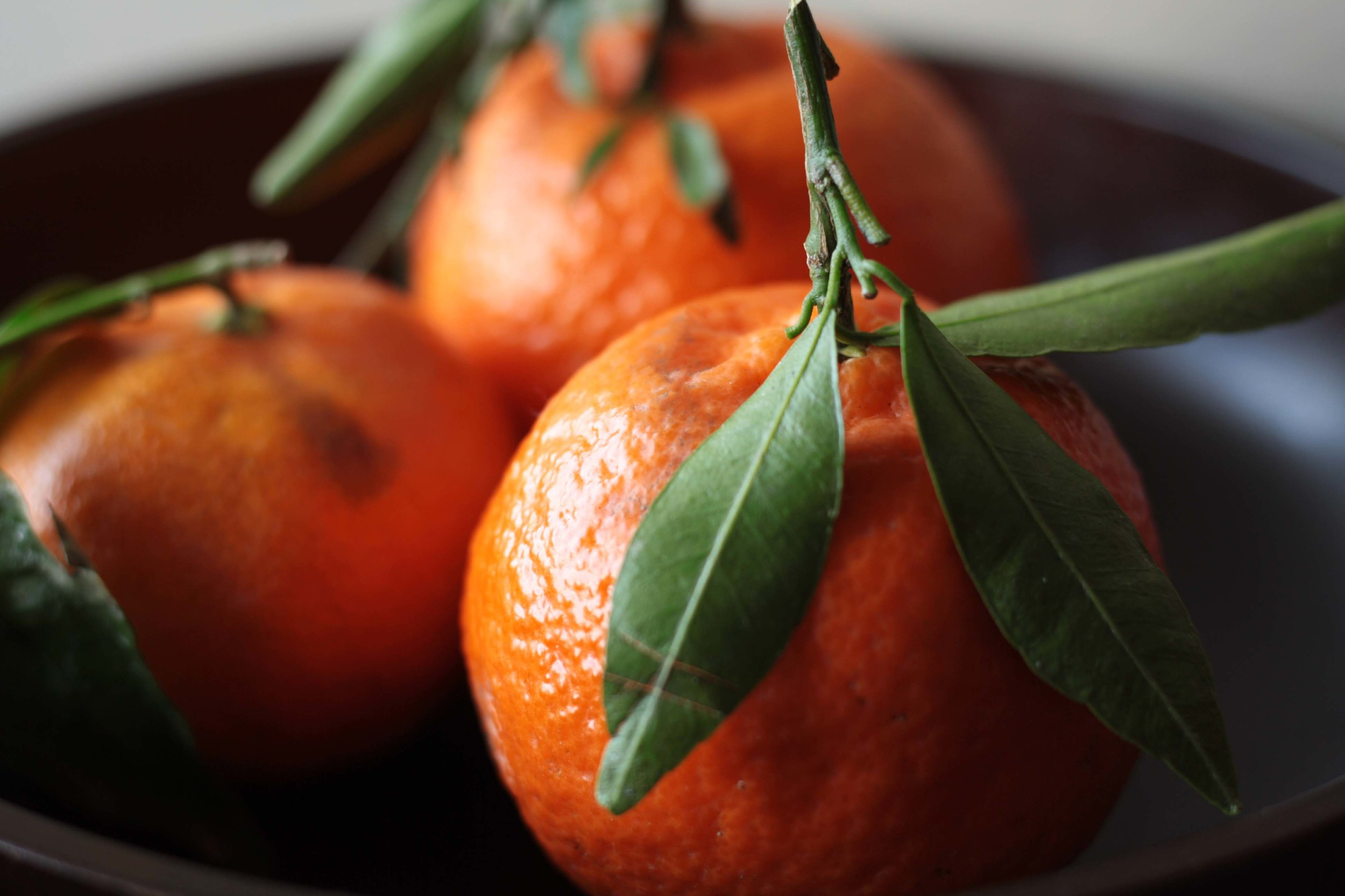 Warm Grape Crostini - close up of oranges