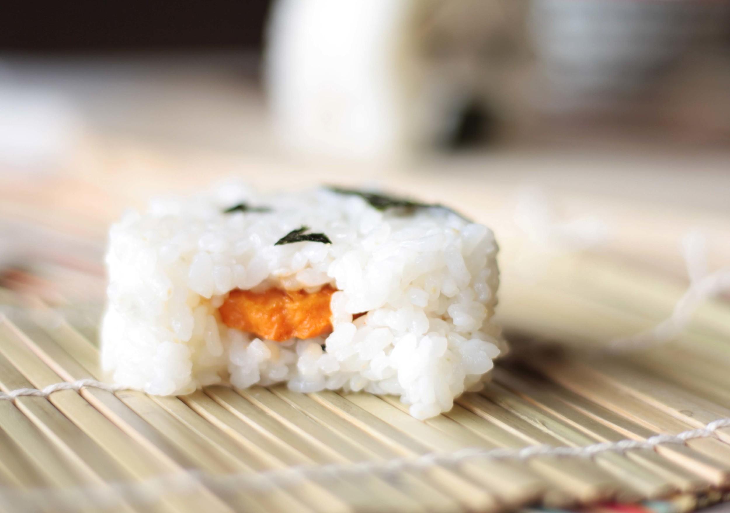 Sweet Potato Onigiri